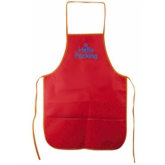 Red NonWoven Kitchen Apron(74008)