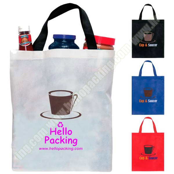 Non-Woven Custom Promotional Shopping Tote Bags(11070)