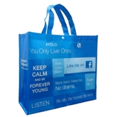 Full colour Lamination Tote Bag for Publicity(20113)