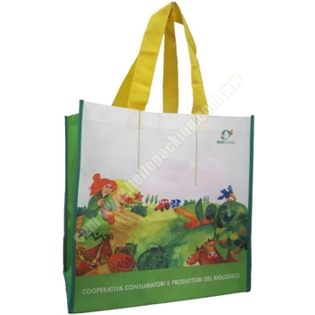 Biodegradable Sublimation print PET Non-Woven Bag(22032) - Products - HelloPacking